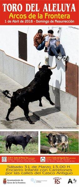 cartel toro aleluya