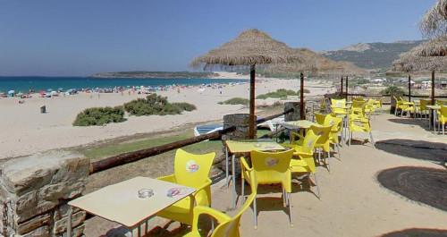 chiringuito el lentiscal playa de bolonia