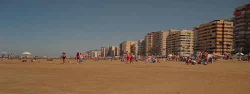 Playa de la victoria Cadiz
