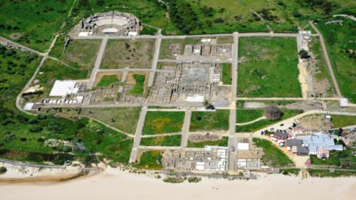restos romanos playa de bolonia