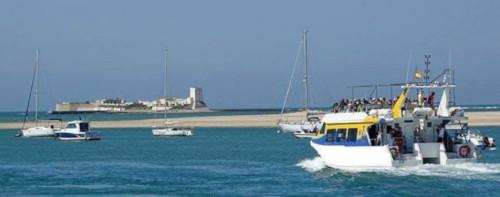 visitas en barco castillo sancti petri