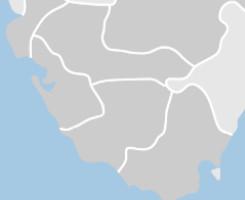 comarcas en la provincia de Cadiz
