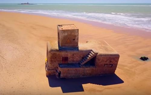 segundo bunker playa boqueron
