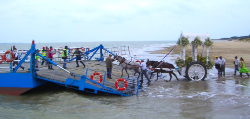 embarque desembocadura guadalquivir