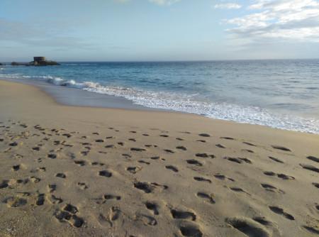 bunker y playa atlanterra