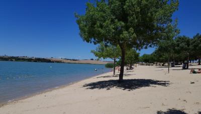 playa del lago de arcos