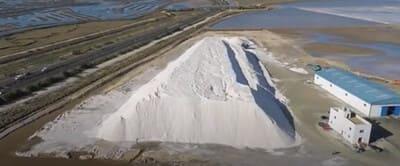 monte de sal bahia de cadiz