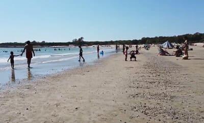 Playa de la punto el puerto cadiz